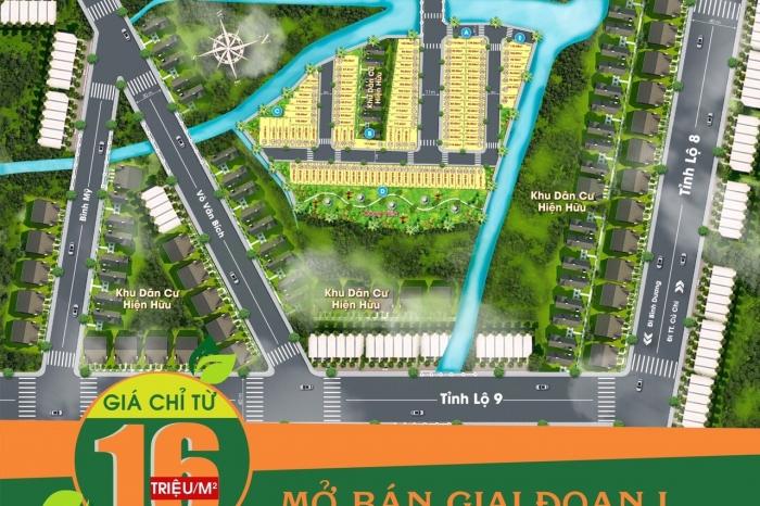 Dự án đất nền River Town mặt tiền Tỉnh Lộ 15