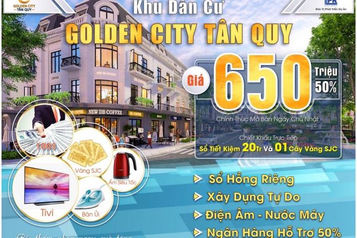 Dự án Golden City  Củ Chi